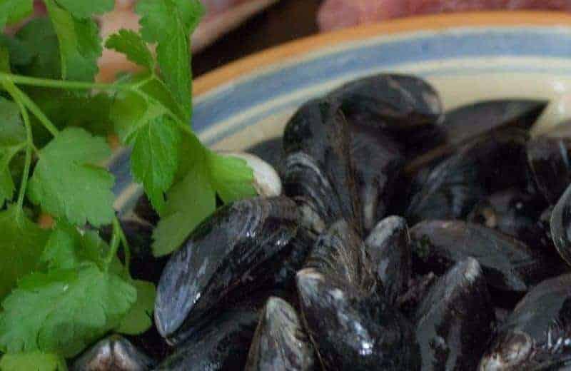 """Musslor """"Moules marinières"""" (Paleo, AIP)"""