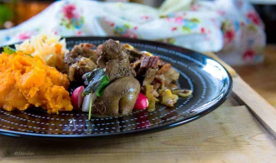 Köttfärslimpa med lever (Paleo, AIP)