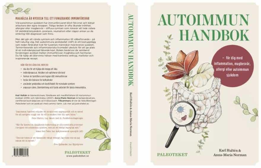 Provläs ny bok: för dig med inflammation, allergi, magbesvär eller autoimmun sjukdom
